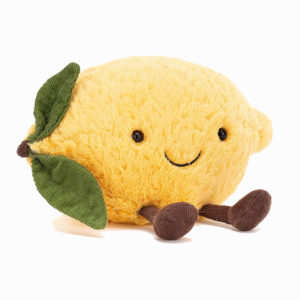 peluche citron fruit jellycat toulouse