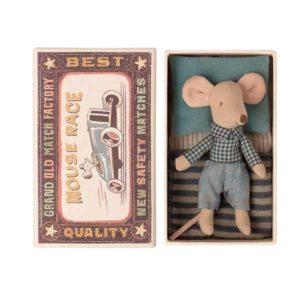 little brother mouse maileg in matchbox toulouse